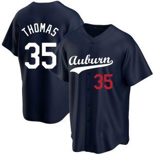 Frank Thomas Custom College 35 Jersey