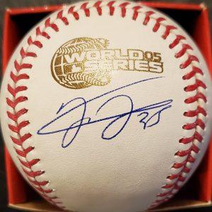 Frank Thomas Autographed 2005 World Series Official Major League Baseball 1
