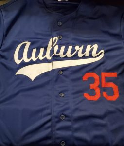 Frank Thomas Autographed Custom Auburn Jersey 2