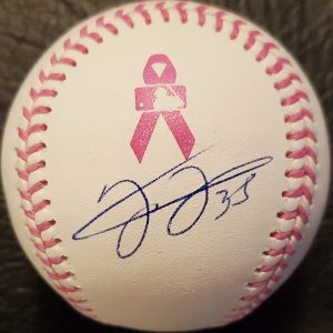 Frank Thomas Autographed Mothers Day Official Major League Baseball 1