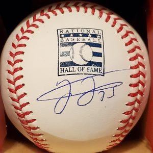 Frank Thomas Autographed Official HOF Baseball 1