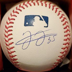 Frank Thomas Autographed Side Paneled Official Major League Baseball 1