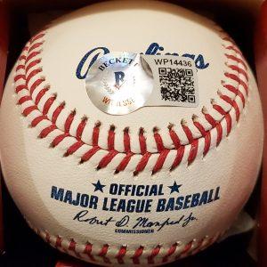 Frank Thomas Autographed Side Paneled Official Major League Baseball 2