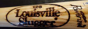 Lenny Dykstra Autographed Louisville Slugger 1986 World Series Game Model Bat 1