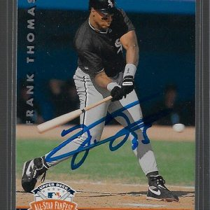 Frank Thomas 1992 Upper Deck Future Heroes White Sox #10 Autographed Card