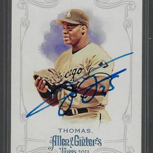 Frank Thomas 2013 Allen and Ginter #251 Autographed Card