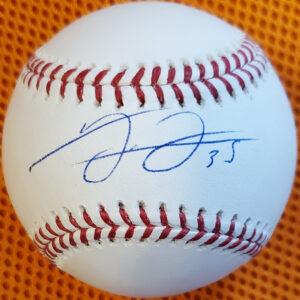 Frank Thomas Autographed Official Major League Baseball Manfred 1