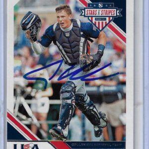 Adley Rutschman 2020 Panini USA Baseball Stars and Stripes Autographed Card #87