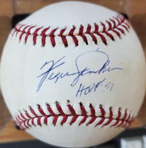 Fergie Jenkins Autographed Baseball OMLB v1