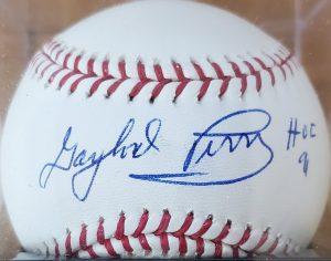 Gaylord Perry Autographed Baseball OMLB