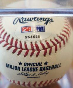 Mitt Romney Autographed Baseball OMLB 3b